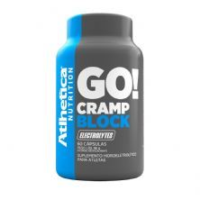 Go Cramp Block Eletrolytes - 60 Cápsulas - Atlhetica Nutrition