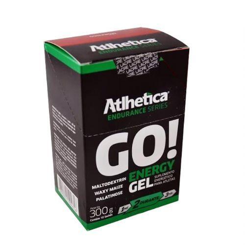Go Energy Gel - 10 Sachês 30g Morango - Atlhetica Nutrition no Atacado