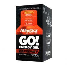 Go Energy Gel Caffeine - 10 Sachês 30g Laranja com Acerola - Atlhetica Nutrition