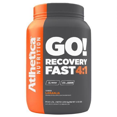 Go Recovery Fast 4:1 - 1050g Laranja - Atlhetica Nutrition no Atacado