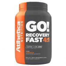 Go Recovery Fast 4:1 - 1050g Laranja - Atlhetica Nutrition