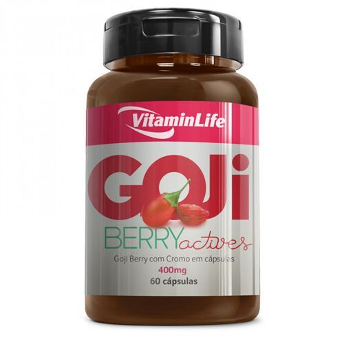 Goji Berry Actives - 60 Cápsulas - Vitaminlife