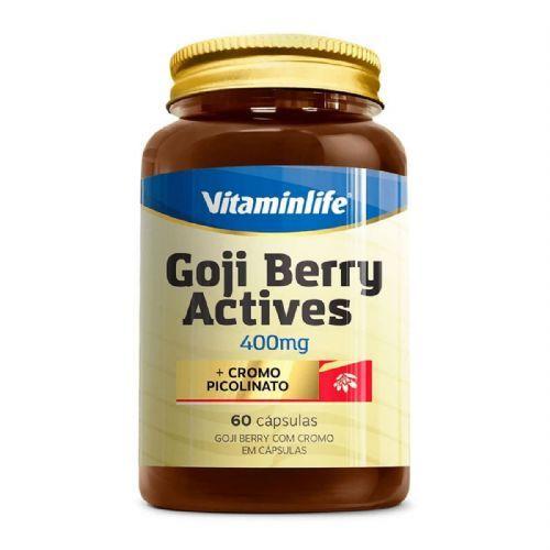 Goji Berry Actives - 60 Cápsulas - Vitaminlife no Atacado