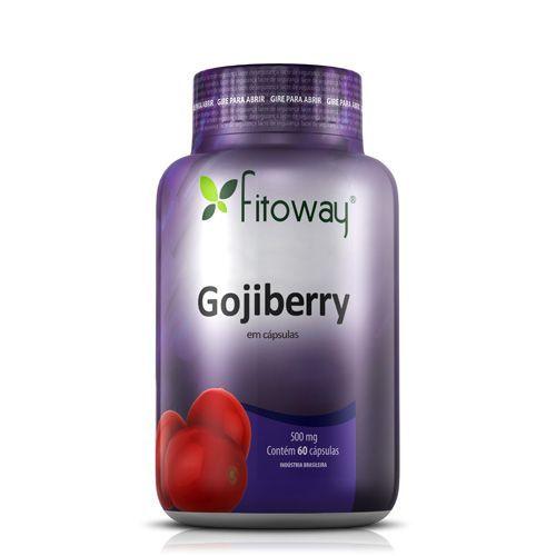 Gojiberry - 60 Cápsulas - Fitoway no Atacado