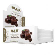 Gold Bar - 12 Unidades 50g Chocolate Crisp - Max Titanium