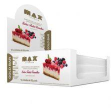 Gold Bar - 12 Unidades 50g Frutas Vermelhas - Max Titanium