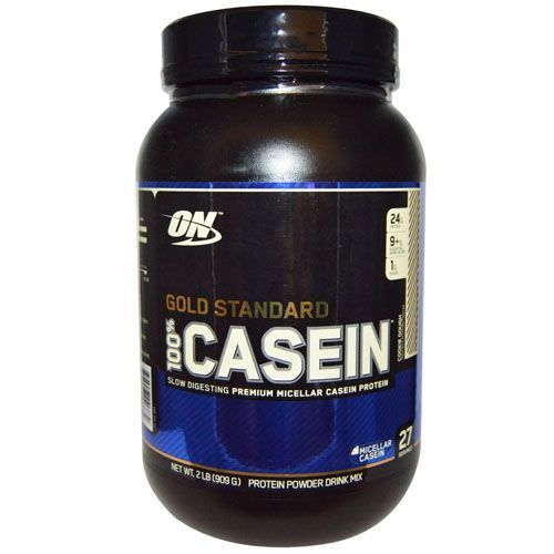 Gold Standard 100% Casein - Chocolate 909g - Optimum Nutrition