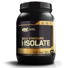 Gold Standard 100% Isolate - 1032g Strawberry Cream - Optimum Nutrition
