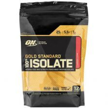 Gold Standard 100% Isolate - 360g Strawberry Cream - Optimum Nutrition