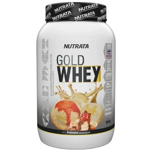 Gold Whey - 900g Banana Caramelizada - Nutrata no Atacado