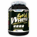Gold Whey - 900g Morango - Body Nutry