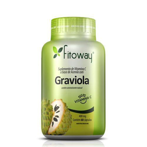 Graviola + Acerola - 60 Cápsulas - Fitoway