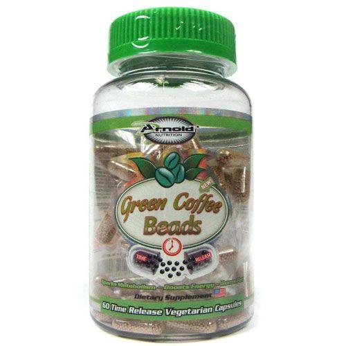 Green Coffee Beads - 60 Cápsulas - Arnold Nutrition