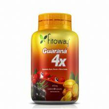 Guarana 4X - 60 Cápsulas - Fitoway