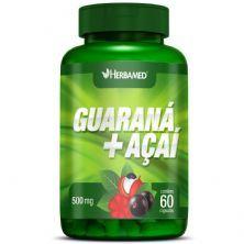 Guarana + Açaí - 60 Cápsulas - Herbamed
