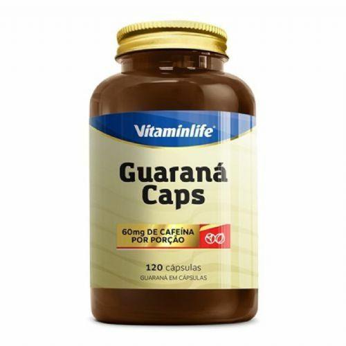 Guaraná Caps - 120 Cápsulas - Vitaminlife no Atacado