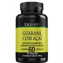 Guaraná com Açaí - 60 Cápsulas - Bioklein