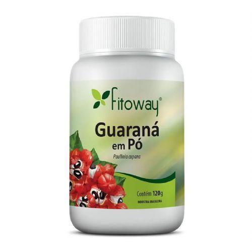 Guarana em Pó - 120g - Fitoway no Atacado