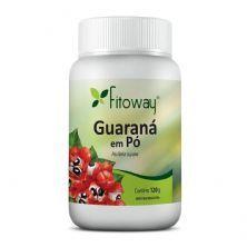 Guarana em Pó - 120g - Fitoway