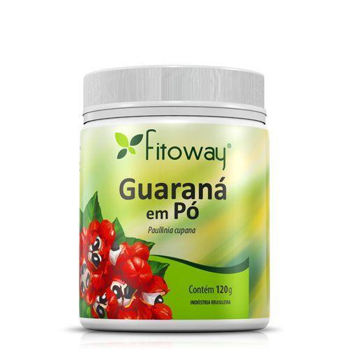 Guarana Em Po Fitoway - 120G - Fitoway