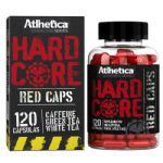 Hardcore Red Caps Hardcore Series - 120 cápsulas 210mg Cafeína - Atlhetica