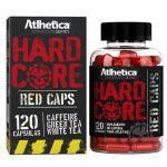 Hardcore Red Caps Hardcore Series - 120 Cápsulas 210mg Cafeína - Atlhetica Nutrition