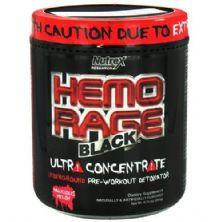 Hemo Rage Black Ultra Concentrado - 171g Blue Raspberry - Nutrex