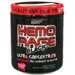 Hemo Rage Black Ultra Concentrado - 321g Bruisin Berry - Nutrex*** Data Venc. 30/10/2017