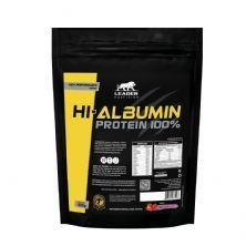 Hi-Albumin Protein 100% Pure - 500g Refil  Morango - Leader Nutrition