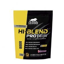 Hi-Blend Protein - 900g Refil Smoothie de Morango - Leader Nutrition