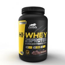 Hi-Whey 25 Protein  Concentrate 100%  - 900g Chocolate - Leader Nutrition