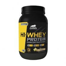 Hi-Whey Protein Concentrate 100% - Baunilha  900g - Leader Nutrition