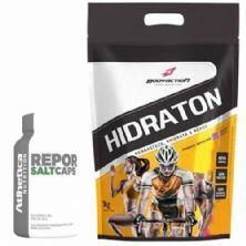 Hidraton 1000g Tangerina + Repor Salt Caps 30 Cápsulas - Atlhetica Nutrition
