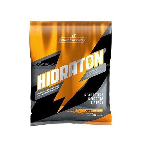 Hidraton - Sabor Tangerina 1000g - BodyAction