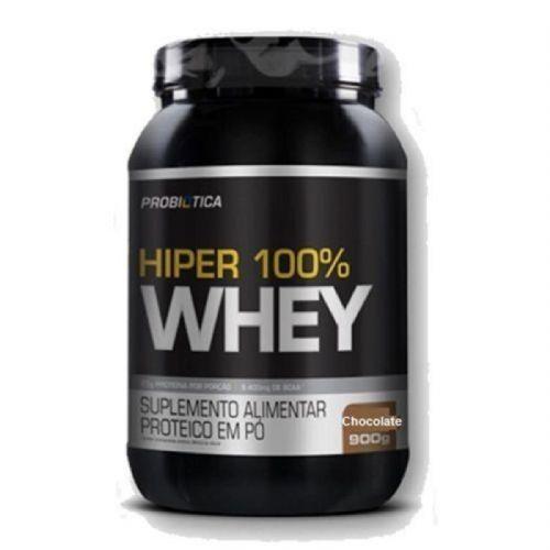 Hiper 100% Whey - 900g Chocolate - Probiotica no Atacado