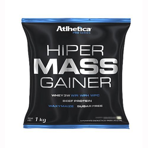 Hiper Mass Gainer - 1000g Chocolate - Atlhetica