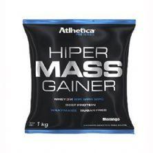 Hiper Mass Gainer - 1000g Morango - Atlhetica Nutrition