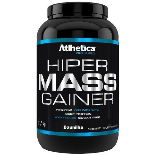 Hiper Mass Gainer - 1500g Baunilha - Atlhetica Nutrition no Atacado