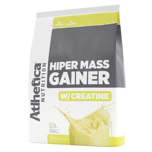 Hiper Mass Gainer - 3.000g Abacaxi com Coco - Atlhetica Nutrition no Atacado