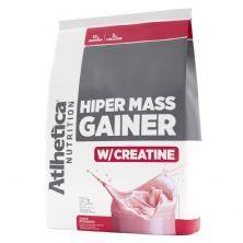 Hiper Mass Gainer - 3000g Morango - Atlhetica Nutrition