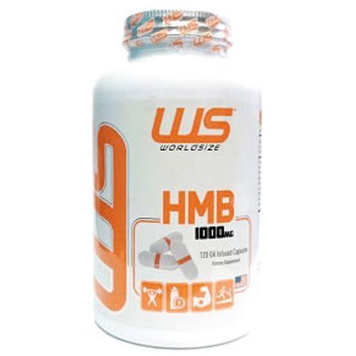 HMB - Size 100mg - 120 Cápsulas - Worldsize