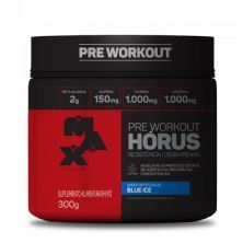 Hórus Pre Workout - 300g Blue Ice - Max Titanium