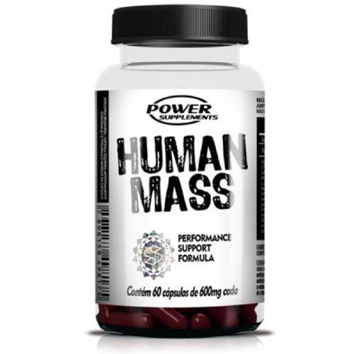 Human Mass - 60 Cápsulas - Power Supplements no Atacado
