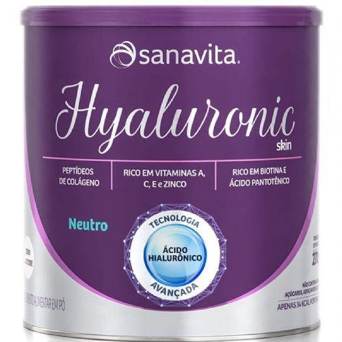 Hyaluronic Skin - 270g Neutro - Sanavita no Atacado