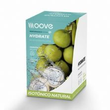Hydrate - 12 Envelopes 20g - Água de Coco - Moove Nutrition*** Data Venc. 30/09/2020