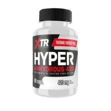 Hyper Anhydrous Caffeine - 60 Cápsulas - XTR