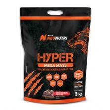 Hyper Mega Mass - 3000g Chocolate Suíço - NeoNutri