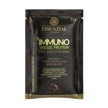 Immuno Veggie Protein - 1 Sachê 36,6g Chocolate – Essential Nutrition