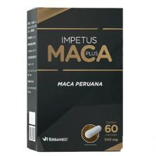 Impetus Maca Plus -  60 Cápsulas - Herbamed