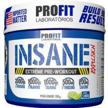 Insane Explosion Extreme Pre-Workout - 200g Limão - ProFit